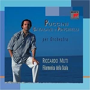 Music Puccini/Catalani/Ponchie