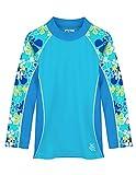 Tuga Shoreline UV-Shirt - Langarm, Retro Ocean, Gr. 148-158 (13-14 Jahre), 18-1088-13/14