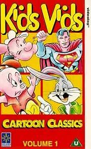 Kids Vids Cartoon Classics - Vol. 1 [VHS] [Import anglais]