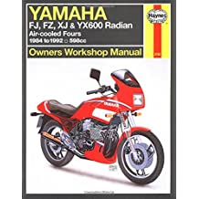 Yamaha Fj, Fz, Xj, & Yx600 Radian Owners Workshop Manual: Air-Cooled Fours 1984-1995 598cc (Haynes Owners Workshop Manuals)