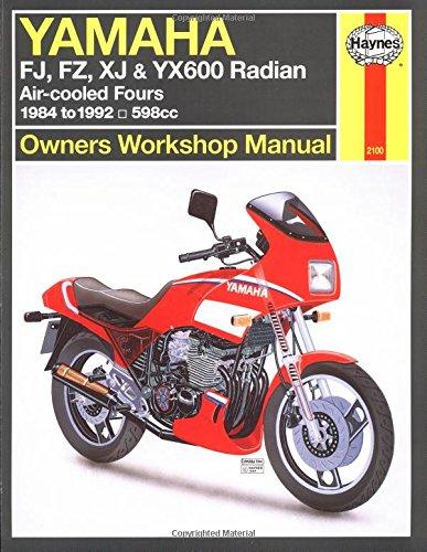 Yamaha Fj, Fz, XJ & Yx600 Radian (84 - 92): FJ, FZ, XJ & YX600 Radian - Owners Workshop Manual (Haynes Owners Workshop Manuals) por Haynes Publishing