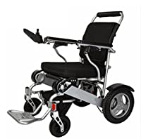 Deluxe Folding Collapsible Power Compact Mobile Assisted Wheelchair With Lightweight Folding Carrying Electric Wheelchair