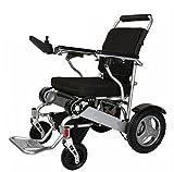 Deluxe Faltbarer Zusammenklappbarer Kraftkompakter Mobiler Unterstützter Rollstuhl mit Leichtem Faltendem Tragendem Elektrischem Rollstuhl