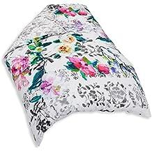 Designers Guild Majolica Slate Funda de edredón (algodón, 220x 240cm), multicolor