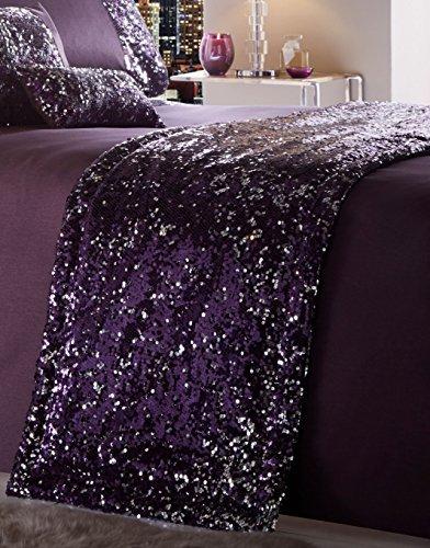 Dazzle Läufer, 100% Polyester, Amethyst violett, 50x 220cm (Portfolio Abdecken)