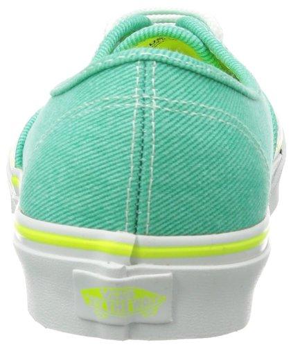 Vans U Authentic - Baskets Mode Mixte Adulte Vert - Vert