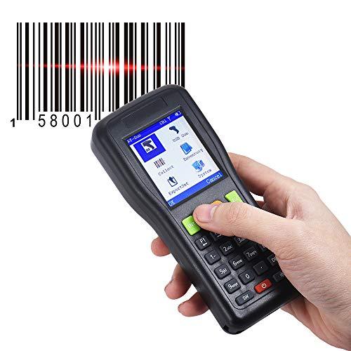 ZUKN Portabler Intelligenter Barcode-Scanner Kabelloser Und Kabelgebundener
