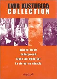 Coffret Emir Kusturica 4 DVD : Arizona Dream / Underground / Chat noir chat blanc / La vie est un miracle [Import belge]