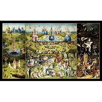 Amazon De 1art1 50905 Hieronymus Bosch Der Garten Der Luste 1500