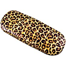 Brillenetui, Großen sonnenbrille fall, mode leopardenmuster