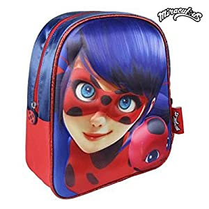 51NQVwmuJRL. SS300  - Lady Bug Miraculous CD-21-2097 2018 Mochila Escolar, 40 cm, Multicolor