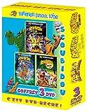 Coffret Scoubidou 3 DVD : Scoubidou sur l'île aux zombies / Scoubidou et le Rallye des monstres / Scoubidou et L'école des sorcières
