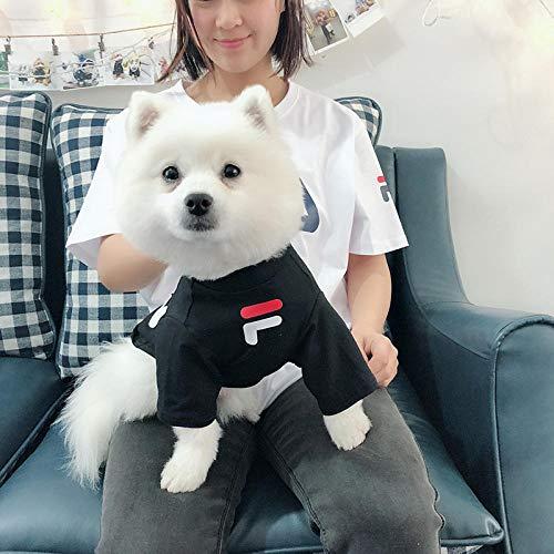 L Pet supplies Frühling und Sommer dünner Hund Kleidung Haustier Kätzchen Familie ausgestattet Bomei als Bär Teddy Kostüm Welpen Pullover Gezeiten - Bär Kostüm Für Hunde