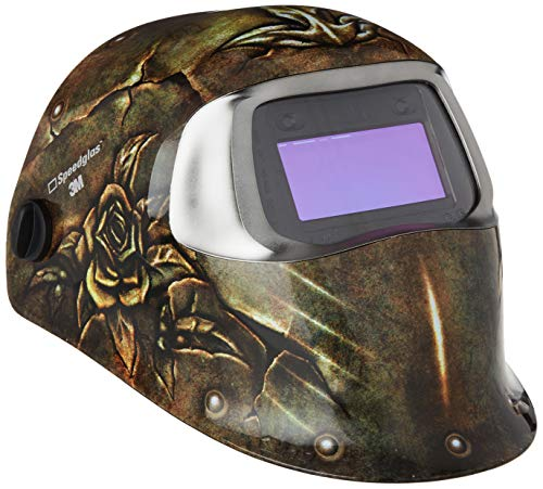 3M Speedglas 7000044591, Casco de Soldadura 100V, Multicolor (100 Steel Rose)