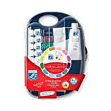 Lefranc & Bourgeois Gouache en tubos, Set Multicolor, multicolor, Pocket Box - 9 Farben