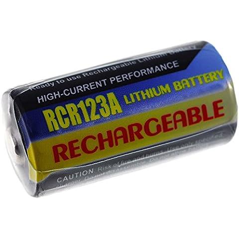 Batteria compatibile per Rollei Prego Zoom X115 500mAh, Li-Fe, 3,0V,