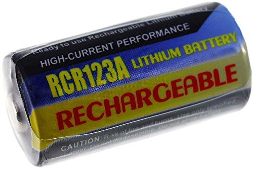 Batteria compatibile per Rollei Prego Zoom AF 500mAh, Li-Fe, 3,0V,