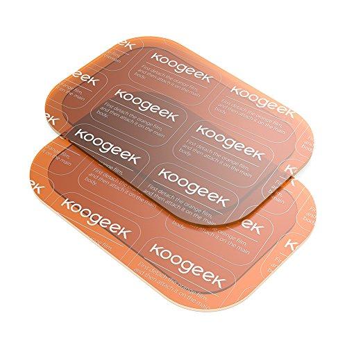 Koogeek Parches de Gel Gel Transparente Super Adhesivo Absorción de Agua para Smart Fitness Gear 6 Piezas