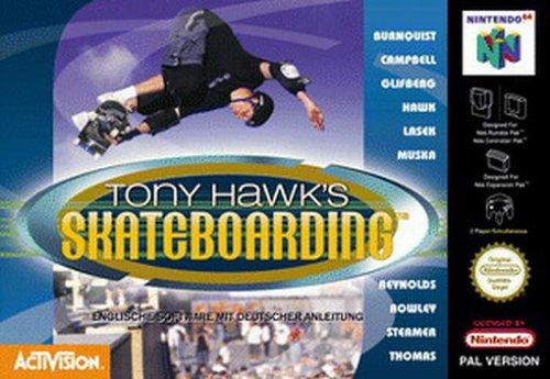 Tony Hawk's Skateboarding
