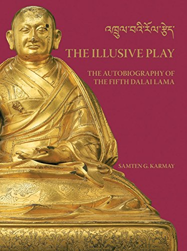 Illusive Play, The : The Autobiography of the Fifth Dalai Lama by Samten G Karmay (Illustrated, 15 May 2014) Hardcover