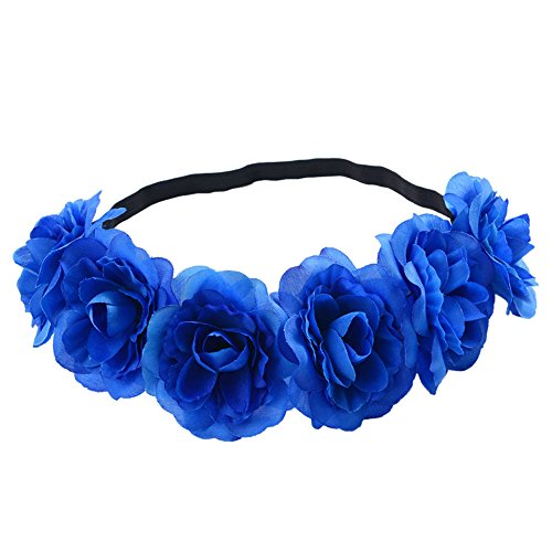 Beonzale Kopfband Haarband Elastisch Weich Verdreht Stirnband