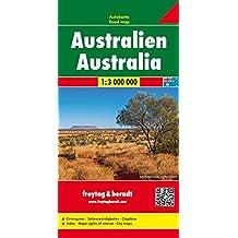 Australien, Autokarte 1:3.000.000, Freytag Berndt Autokarten (freytag & berndt Auto + Freizeitkarten)