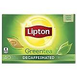 Lipton Green Tea, Decaffeinated, Tea Bag...