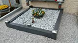 Grabeinfassung / Grabumrandung Urnengrab aus Aluminium