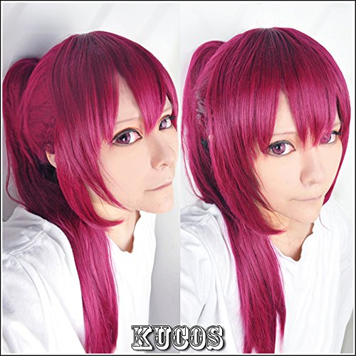 LanTing Cosplay Perücke Free! Swim Club Rin Matsuoka Red Braid Lange Perücke Cosplay Party Fashion Anime Human Costume Full wigs Synthetic Haar Heat Resistant Fiber