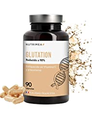 Glutation 400 mg Anti Edad Para Hombres y Mujeres L- Glutation Reducido 98% Aminoacidos