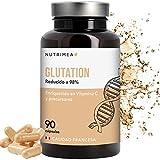 Glutation 400 mg Anti Edad Para Hombres y Mujeres L- Glutation Reducido 98% Aminoacidos Glicina Cisteina Acido Glutamico Antioxidante Regenerador Celular Glutathione Skin Whitening Fabricado en Francia