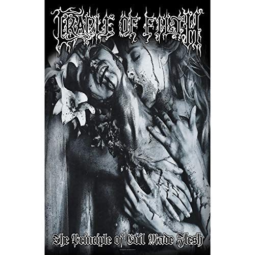 Home Cradle (Cradle of Filth POSTERFLAGGE Fahne Flagge The Principle of Evil Made Flesh)