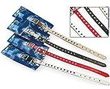 Weiß Katze Kätzchen Pet Leder Halsband 25,4cm Bell strapazierfähigem Verstellbarer Gummizug Halsbänder