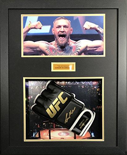Conor McGregor unterzeichnet UFC Handschuh Display mit Echtheitszertifikat (Unterzeichnet Display)