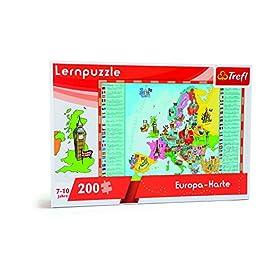 Trefl 10418 – Puzzle Didattico Mappa dell'Europa