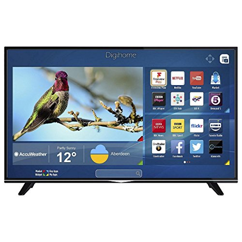 Digihome 43  43298 UHD DLED 4K Ultra HD Smart Tv With Wi-Fi   Freeview Play