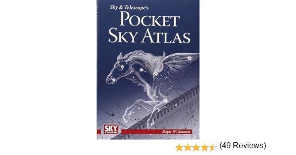 Amazon sky telescope s pocket sky atlas roger w sinnott