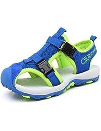 JIANKE Sandalias para niño Deportivas Zapatillas Trekking Zapatos de Playa