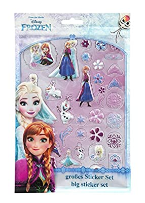 Frozen Wall Decor Anna & Elsa produced by Undercover - quick delivery from UK.