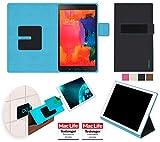 Case Cover Tasche Etui pour tablette Huawei Honor T3 Samsung Galaxy Tab 4 8.0 Amazon Fire HD 8 2017 Tablet Lenovo Tab 4 8 Asus Zenpad 8.0 - Support mural anti-gravité, porte-tablette de voiture, support de table - Boîtier de protection murale et pour tablette voiture nécessitant aucun outil ou colle - reboon booncover M2