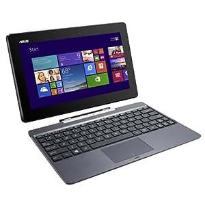 """Asus Série 2 en 1 T100TA-DK023H Ultra Portable 10"""" (25,40 cm) Intel Atom Z3775 1,46 GHz 32 GB Go 2 Mo Durée de batterie: 1 h 0,930 kg Gris"""