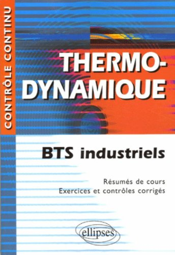 Thermodynamique BTS industriels