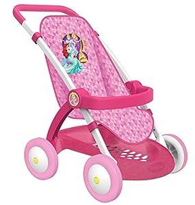 Sillita rosa de Princesas Disney para muñecos (Smoby 254011)