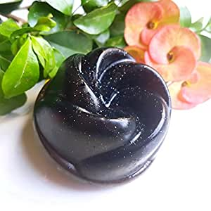 Curie Handmade Soap- GALAXY, Charcoal Soap and Chocolate Soap, 100 gm, moisturizing soap, antiaging soap