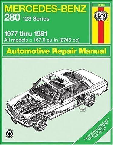 Mercedes Benz 280 (Series 123) 1977-1981 Owner's Workshop Manual (Haynes Owners Workshop Manuals) by Legg, A. K. published by Haynes Manuals Inc