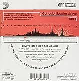 D\'Addario Cordes pour guitare acoustique jazz manouche D\'Addario EJ84M, extrémité à boucle, Medium, 11-45