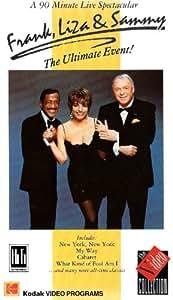 Frank.Liza & Sammy-Ultimate Event [VHS] [UK Import]