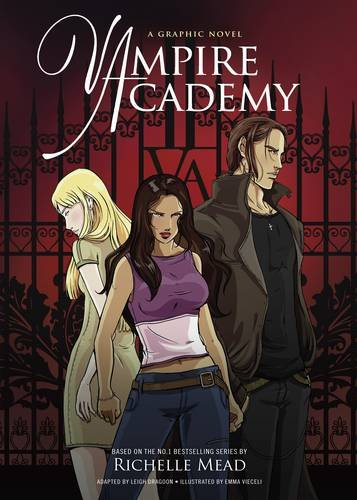 Book cover for Vampire Academy