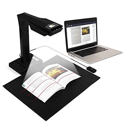 CZUR Smart Book / Document Wi-Fi Scanner with Curve Distortion Flattening & Amazing OCR