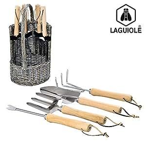 Set de 4 outils de jardinage Laguiole